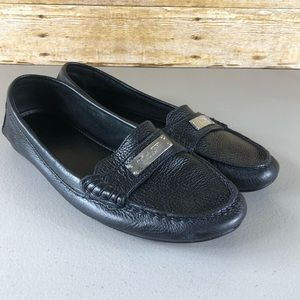 Coach Black Frederica Loafers Sz 9
